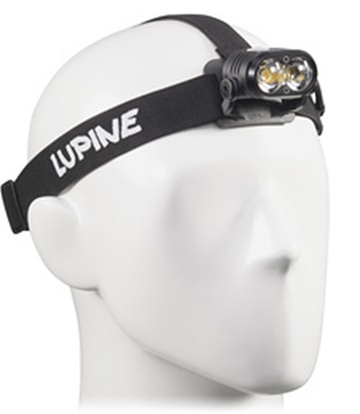 HEAD FLASHLIGHT WITH LED PIKO X3 LUPINE